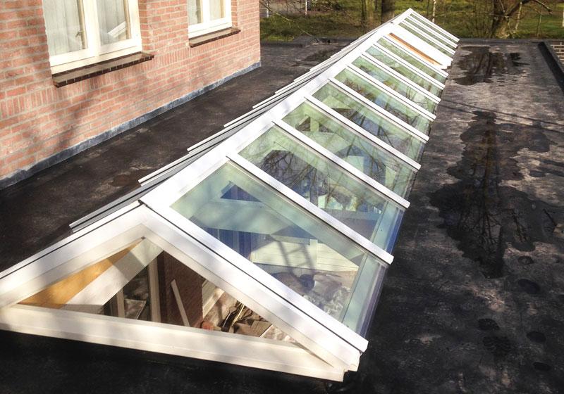 Glasbedrijf Smits - Lichtstraat Lieshout